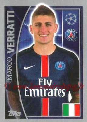 2015-16 - Topps UEFA Champions League Stickers - N° 024 - Marco VERRATTI (Paris Saint-Germain)