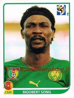 2010 - Panini FIFA World Cup South Africa Stickers - N° 394 - Rigobert SONG (Cameroun)