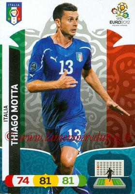 Panini Euro 2012 Cards Adrenalyn XL - N° 126 - thiago MOTTA (Italie)