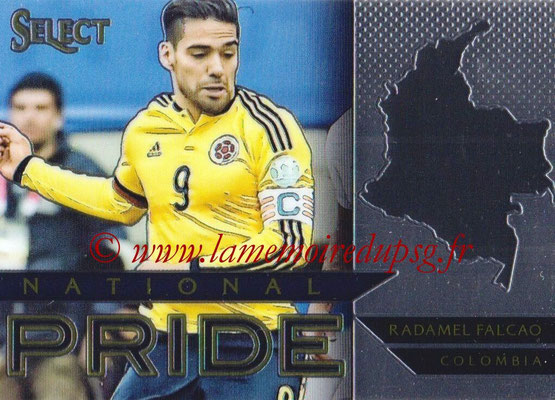 2015 - Panini Select Soccer - N° NP12 - Radamel FALCAO (Colombie) (National Pride)