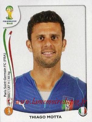 N° 325 - Thiago MOTTA (Jan 2012-??, PSG > 2014, Italie)