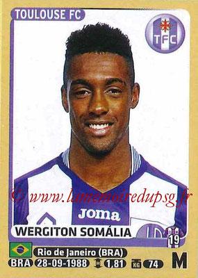 2015-16 - Panini Ligue 1 Stickers - N° 450 - Wergiton SOMALIA (Toulouse FC)