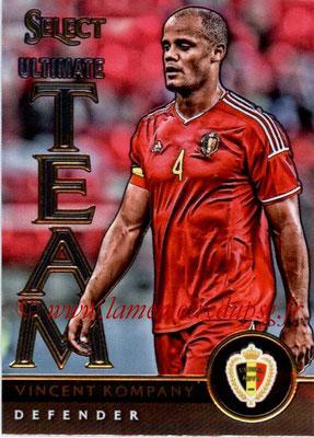 2015 - Panini Select Soccer - N° UT08 - Vincent KOMPANY (Belgique) (Ultimate Team)