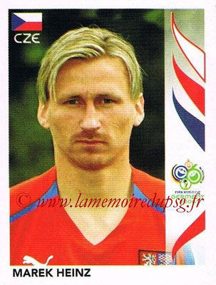 2006 - Panini FIFA World Cup Germany Stickers - N° 375 - Marek HEINZ (République Tchèque)