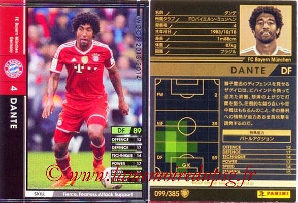 2013-14 - WCCF - N° 099 - DANTE (FC Bayern Munich)