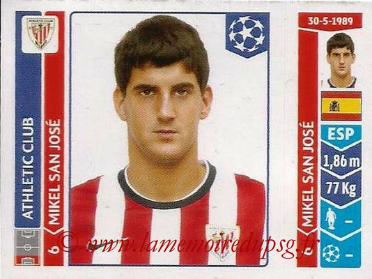 2014-15 - Panini Champions League N° 609 - Mikel SAN JOSE (Athletic Club Bilbao)