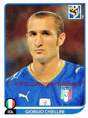 2010 - Panini FIFA World Cup South Africa Stickers - N° 414 - Giorgio CHIELLINI (Italie)