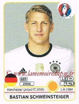 Panini Euro 2016 Stickers - N° 250 - Bastian SCHWEINSTEIGER (Allemagne)