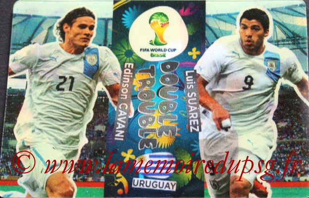 N° 416 - Edinson CAVANI (2013-??, PSG > 2014, Uruguay) (Double trouble)