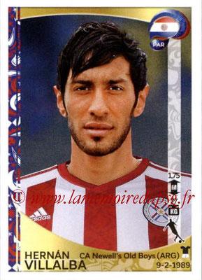 Panini Copa America Centenario USA 2016 Stickers - N° 099 - Hernan VILLALBA (Paraguay)