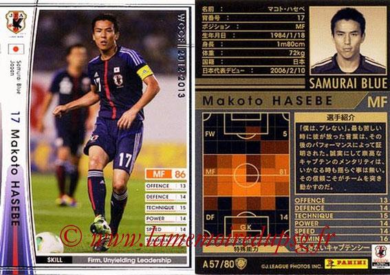 2012-13 - WCCF - N° A57 - Makoto HASEBE (Japon)