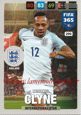 2016-17 - Panini Adrenalyn XL FIFA 365 - N° 290 - Nathaniel CLYNE (Angleterre) (International Star)