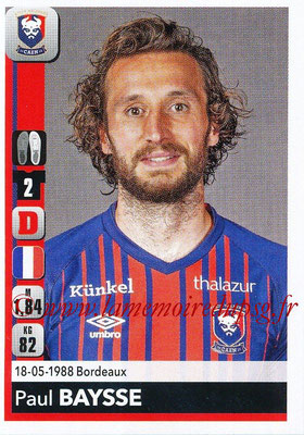 2018-19 - Panini Ligue 1 Stickers - N° 079 - Paul BAYSSE (Caen)