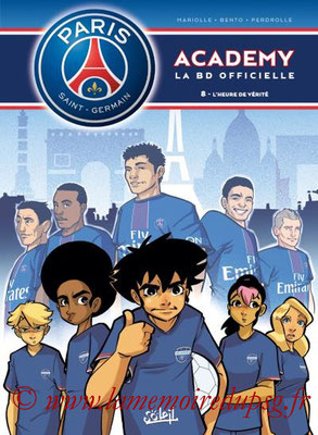 2016-11-16 - PSG Academy, Tome 8 (Soleil, 40 pages)
