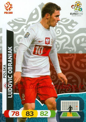 Panini Euro 2012 Cards Adrenalyn XL - N° 159 - Ludovic OBRANIAK (Pologne)