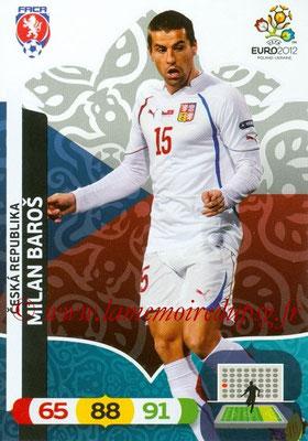 Panini Euro 2012 Cards Adrenalyn XL - N° 011 - Milan BAROS (République Tchèque)