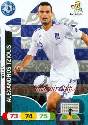 Panini Euro 2012 Cards Adrenalyn XL - N° 099 - Alexandros TZIOLIS (Grèce)