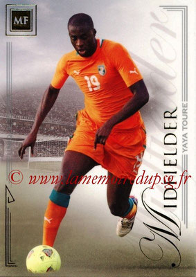 2014 - Futera World Football Unique - N° 062 - Yaya TOURE (Midfielder)
