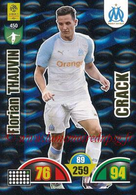 2018-19 - Panini Adrenalyn XL Ligue 1 - N° 450 - Florian THAUVIN (Marseille) (Crack)