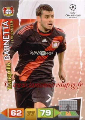 2011-12 - Panini Champions League Cards - N° 052 - Tranquillo BARNETTA (Bayer 04 Leverkusen)