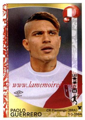 Panini Copa America Centenario USA 2016 Stickers - N° 203 - Paolo GUERRERO (Perou)