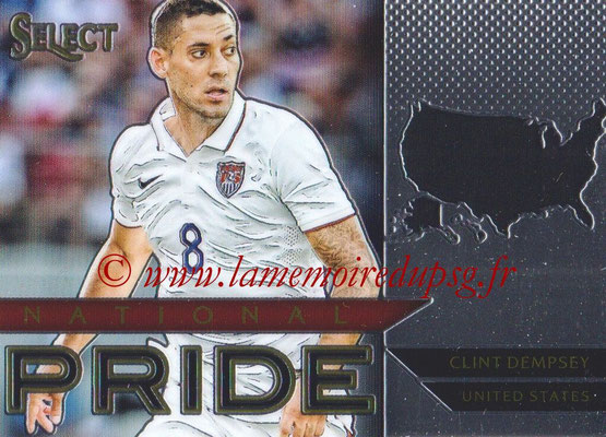2015 - Panini Select Soccer - N° NP43 - Clint DEMPSEY (États Unis) (National Pride)