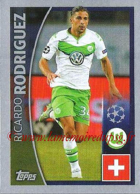 2015-16 - Topps UEFA Champions League Stickers - N° 088 - Ricardo RODRIGUEZ (VFL Wolfsburg)