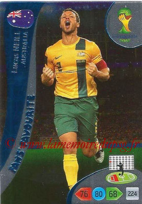 2014 - Panini FIFA World Cup Brazil Adrenalyn XL - N° 326 - Lucas NEILL (Australie) (Fan's favorite)