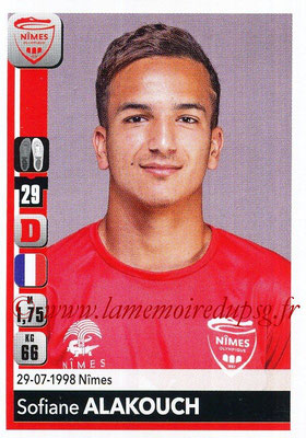 2018-19 - Panini Ligue 1 Stickers - N° 328 - Sofiane ALAKOUCH (Nîmes)