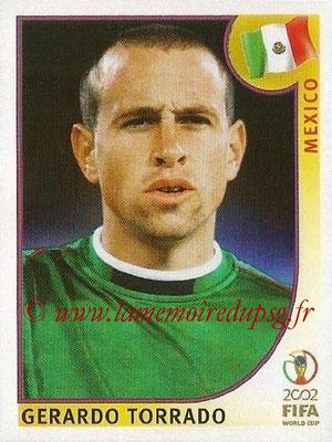 2002 - Panini FIFA World Cup Stickers - N° 501 - Gerardo TORRADO (Mexique)