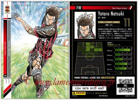 Panini Football League 2014 - PFL04E - N° 001 - Yotaro Natsuki (East Tokyo United)