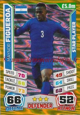 Topps Match Attax England 2014 - N° 140 - Maynor FIGUEROA (Honduras)