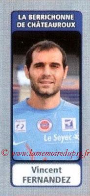 N° 538 - Vincent FERNANDEZ (1996-98, PSG > 2011-12, Chateauroux)