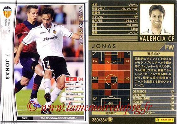 2012-13 - WCCF - N° 379 - JONAS (FC Valence)