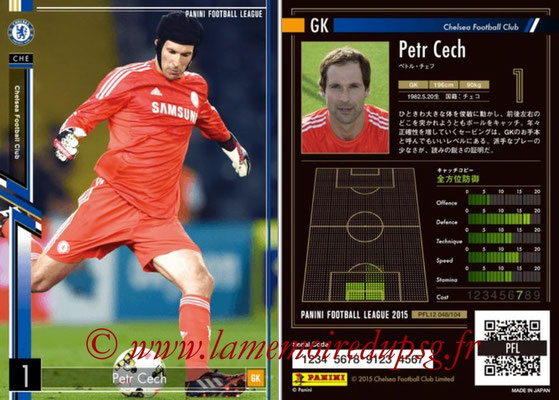 Panini Football League 2015 - PFL12 - N° 048 - Petr CECH (Chelsea FC)