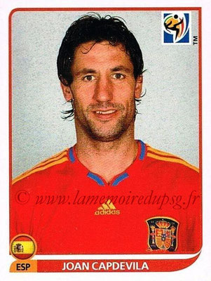 2010 - Panini FIFA World Cup South Africa Stickers - N° 569 - Joan CAPDEVILA (Espagne)