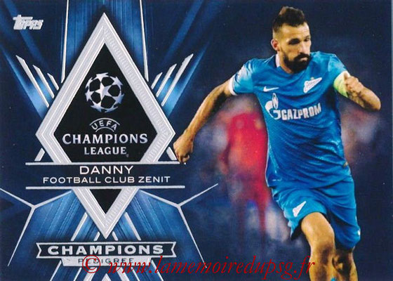 2015-16 - Topps UEFA Champions League Showcase Soccer - N° CP-D - DANNY (FC Zenit) (Champions Pedigree)