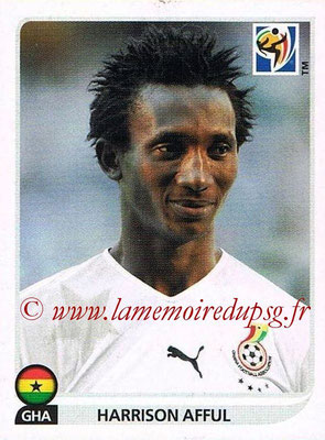 2010 - Panini FIFA World Cup South Africa Stickers - N° 321 - Harrison AFFUL (Ghana)