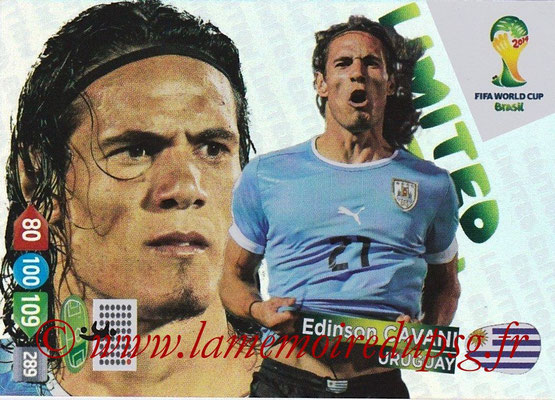N° LE-EC - Edinson CAVANI (2013-??, PSG > 2014, Uruguay) (Limited edition)