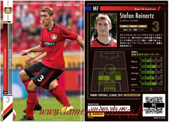 Panini Football League 2013 - PFL01 - N° 147 - Stefan Reinartz ( Bayer 04 Leverkusen )