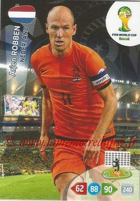 2014 - Panini FIFA World Cup Brazil Adrenalyn XL - N° 256 - Arjen ROBBEN (Pays-Bas)