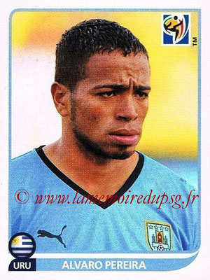 2010 - Panini FIFA World Cup South Africa Stickers - N° 080 - Alvaro PEREIRA (Uruguay)
