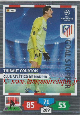 2013-14 - Adrenalyn XL champions League N° 318 - Thibaut COURTOIS (Club Atletico de Madrid) (Goal Stopper)