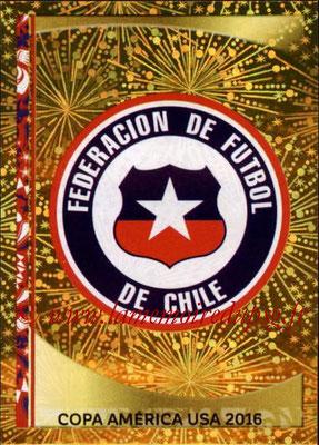 Panini Copa America Centenario USA 2016 Stickers - N° 326 - Logo Chili