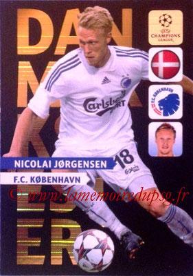 2013-14 - Adrenalyn XL champions League N° NE10 - Nicolai JORGENSEN (Danmarksmester) (Nordic edition)