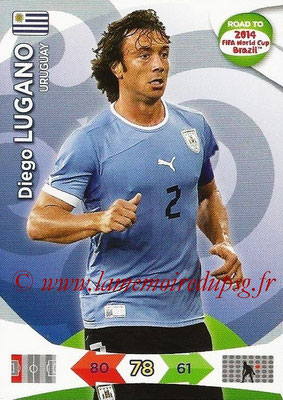 2014 - Panini Road to FIFA World Cup Brazil Adrenalyn XL - N° 185 - Diego LUGANO (Uruguay)