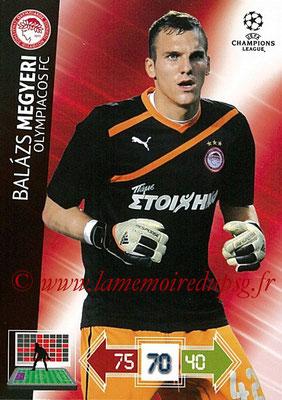 2012-13 - Adrenalyn XL champions League N° 184 - Balazs MEGYERI (Olympiacos FC)