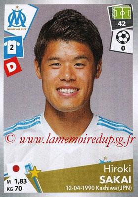 2017-18 - Panini Ligue 1 Stickers - N° 216 - Hiroki SAKAI (Marseille)