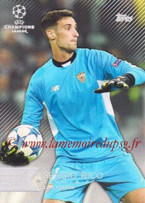 2015-16 - Topps UEFA Champions League Showcase Soccer - N° 094 - Sergio RICO (FC Valence)