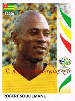 2006 - Panini FIFA World Cup Germany Stickers - N° 526 - Robert SOULIEMANE (Togo)